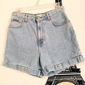 Calvin Klein Size 10 high waisted vintage shorts